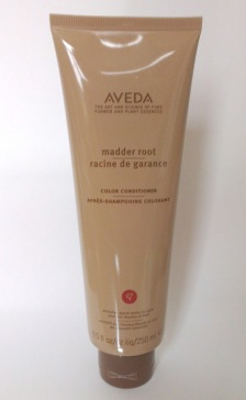 a-model-in-london--aveda-madder-root-red-conditioner