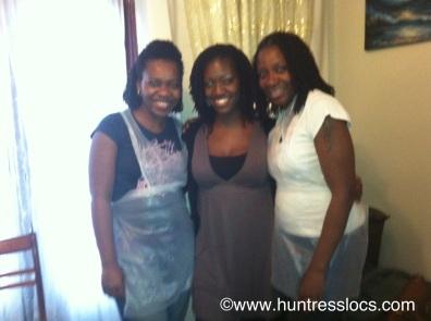 Huntress Locs: 3 Year old Sisterlocks