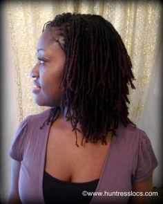 Huntress Locs: 3 Year old Sisterlocks