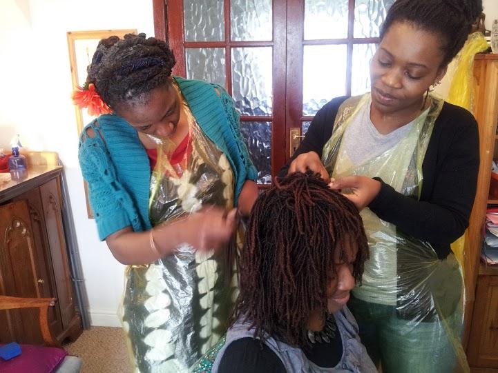 Huntress Locs with my Sisterlocks Consultants at Bespoke Hair Styles