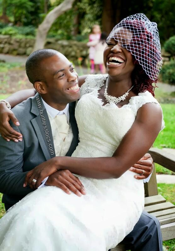 The Natural Bride: Sisterlocked Natural Bride - Huntress Locs