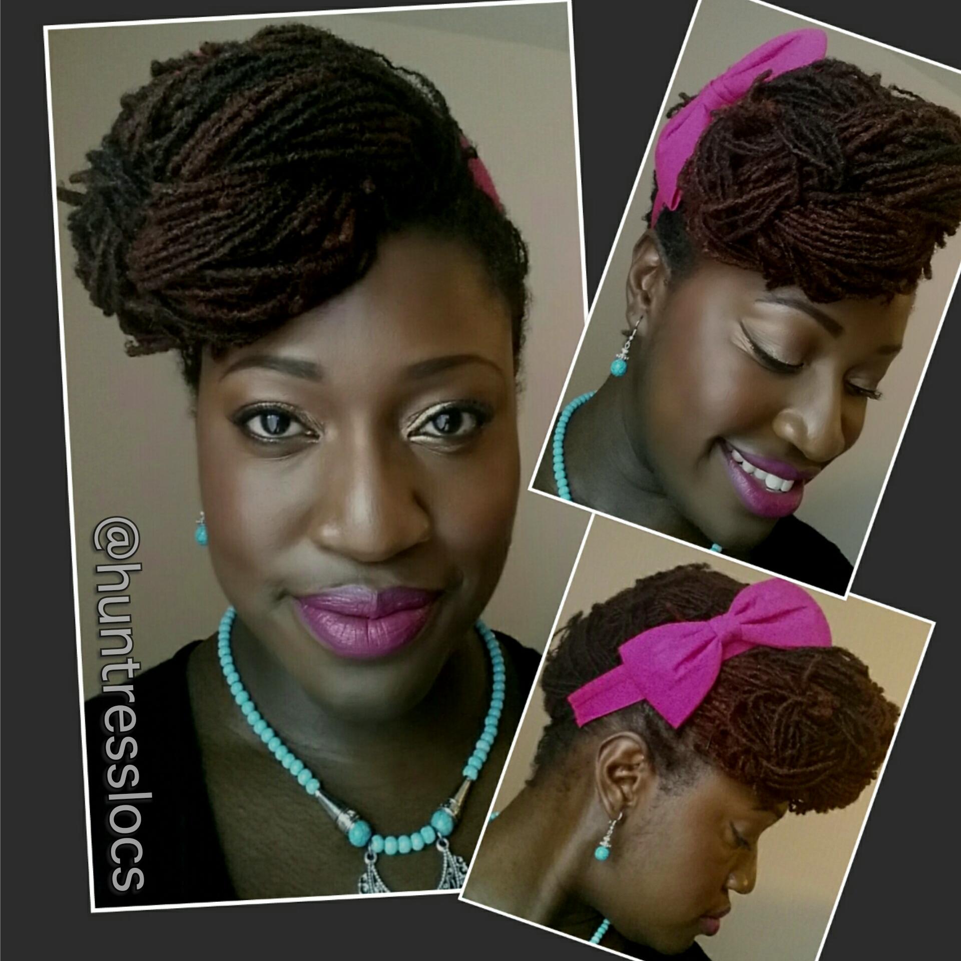 Outstanding Huntresslocs39 Natural Hair Amp Sisterlock Ramblings Uk Natural Short Hairstyles Gunalazisus